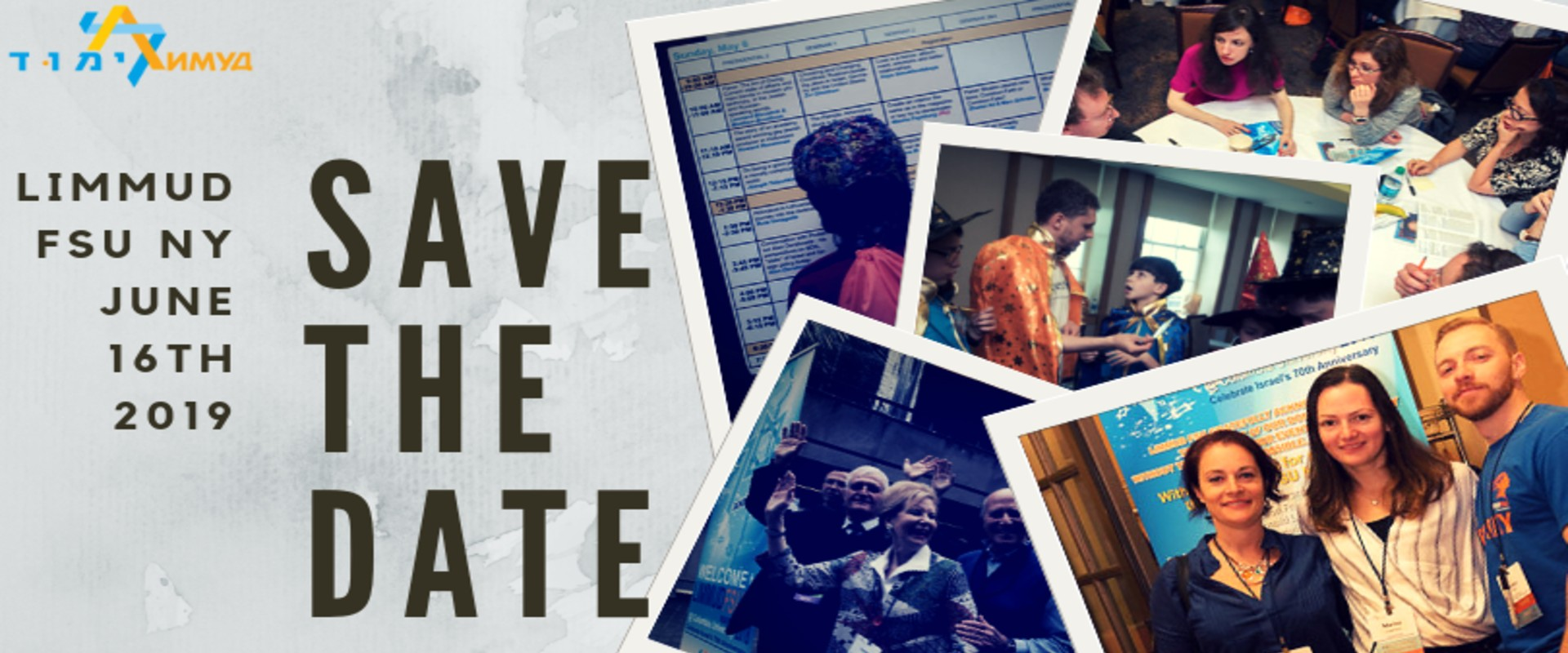 Limmud FSU NY 2019 Save the Date